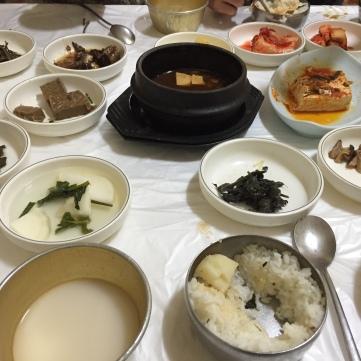 Sanchae jungshik at Buil shikdang
