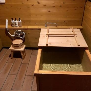 Bath tub opened