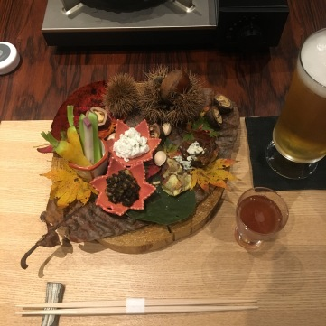 Fall on the plate