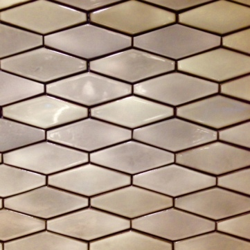 Polygon celadon wall tiles