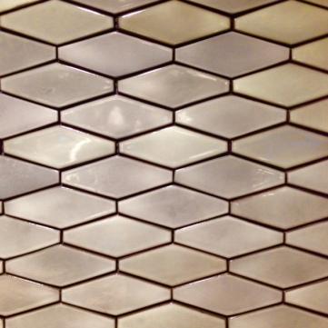 Polygon celadon wall tiles